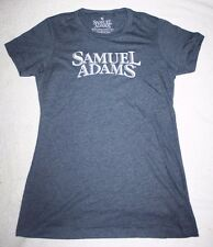 Samuel Sam Adams For The Love of Beer Logo T Shirt Charcoal Color Small NEW