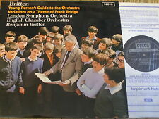 SXL 6450 Britten Young Person's Guide to the Orchestra etc. / Britten
