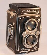 Rolleiflex DRP Camera with Zeiss Tessar 75mm F/3.5 lens. Compur-Rapid