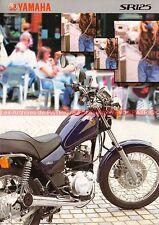 YAMAHA SR 125 - 1999 : Brochure - Dépliant - Moto                         #0535#
