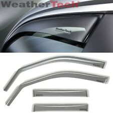 WeatherTech® Side Window Deflectors for BMW 5-Series - 2011-2015 - Light Tint