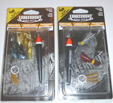 Lunkerhunt Panfish/Trout-Micro Jig/Floats Bait (Lot of 2 Kits)