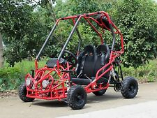 Dongfang 110CC Go Kart  Red DF110GKB Steel Wheels Buggy 4 Wheels