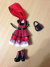 Ever After High Hat-Tastic Party Cerise Hood Doll's Outfit Clothes Shoes Lot