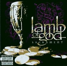"LAMB OF GOD ""SACRAMENT"" CD NEUWARE!"