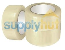 "6 Rolls Shipping Packaging Packing Box Sealing Tape 1.6 mil 2"" x 55 Yard 165FT"