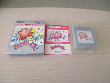 HOSHI NO KIRBY NINTENDO GAMEBOY GAME BOY JAPAN COMPLETE IN BOX!