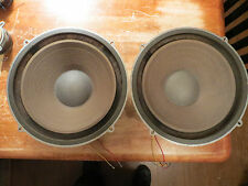"WHARFEDALE VINTAGE PAIR OF W 90 12.5"" WOOFERS"