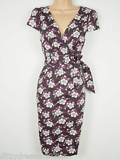 BNWT Joe Browns Floral Print Faux Wrap Dress Size 10 RRP £62
