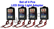 4 Pcs LED Strip Light Adapter / Driver, LED Driver AC 100-240 V to DC 12V 1 Amp