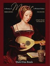History of Music in Western Culture, Volume 1 (3rd Edition)-ExLibrary