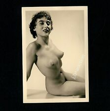 #418 RÖSSLER AKTFOTO / NUDE WOMAN STUDY * Vintage 1950s Studio Photo - no PC !