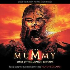 The Mummy: Tomb of the Dragon Emperor Soundtrack CD by Randy Edelman NEW SEALED