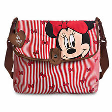 Brand New Disney Store Minnie Mouse Diaper Bag with changing pad by BabyMel Red