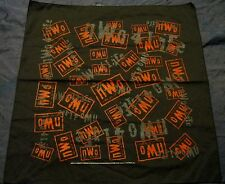 VINTAGE  1998 New World Order  nWo  Bandana  RED LOGO WCW  NASH, LUGER,CHYNA