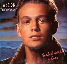 "JASON DONOVAN-SEALED WITH A KISS - 7"" 45 P/S VINYL SINGLE RECORD Australia"