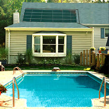 Smartpool Sunheater 4'x20' Solar Panel Heating System In-Ground Swimming Pools