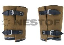 WH/SS WICKELGAMASCHEN WW2 GAITERS 100% HANDMADE HIGH QUALITY EUROPEAN REPLICA