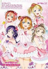 'NEW' LOVE LIVE ! School Idol Collection Perfect Visual Book / Japan anime art