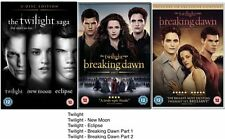 The Twilight Saga 1-5 Complete Collection 1 2 3 4 5 BRAND NEW UK REGION 2 DVD