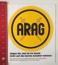 Aufkleber/Sticker: ARAG - Markenzeichen Für Rechtsschutz (170516187)