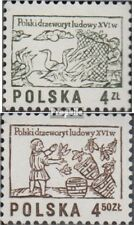 Polen 2537-2538 (kompl.Ausg.) postfrisch 1977 Holzschnitte EUR 1,1