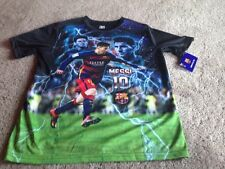 FC Barcelona Messi Youth XL Polyester T Shirt Tee. New.