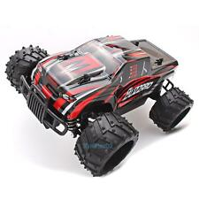 1/16 4WD 2.4G High Speed Radio Remote Control RC RTR Truck Car Off Road Gift Red