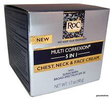 HEXINOL RoC MULTI CORREXION 5 IN 1 CHEST NECK FACE CREAM SUNSCREEN SPF 30