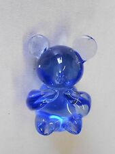 "Small Koala Bear Blue Glass Paperweight ""US Commemorative Fine Arts Gallery"""