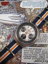 "1970s Citizen 8110 Bullhead Automatic ""Challenge Timer"" Chronograph w/Case"