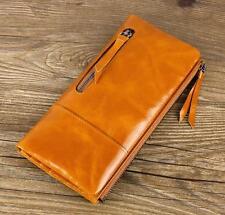 #14 Genuine Leather Wallet Women Real Cowhide Wallet Clutch Female Purse bag