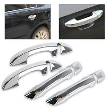 Chrome Side Door Handle Cover Trim for VW Golf 6 MK6 Skoda SUPERB 2009 2010-2012