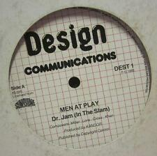 "Men At Play(12"" Vinyl)Dr Jam-Design Communications-DEST1-1983--G/Ex"