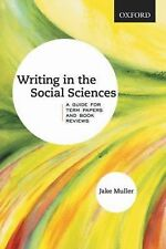 Writing in the Social Sciences: A Guide for Term Papers and Book Reviews