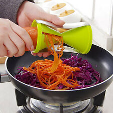 Spiral Slicer Cutter Vegetable Fruit Spiralizer Twister Peeler Kitchen Tool Kit