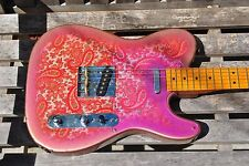 Paisley Telecaster PICK GUARD correct color fits US & Japan PT  RARE JVGuitars