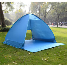 Portable Pop Up Beach Canopy Sun Shade Shelter Outdoor Camping Fishing Tent Blue