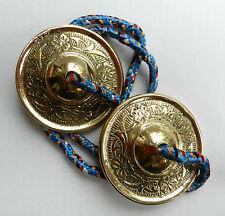 Tibetan Brass Manjira Bells / Majira Bells / Tingsha / Cymbals  - BNWT