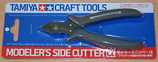 Tamiya 74093 Craft Tools, Modeler's Side Cutter (Gray) for RC & Plastic Kits NIP