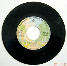 1975'S 45 R.P.M. RECORD, GEORGE BAKER SELECTION, PALOMA BLANCA + DREAMBOAT