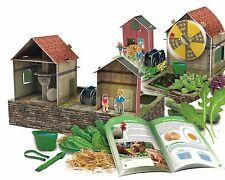 3D CREA LA TUA FATTORIA GIOCO crea la tua farmyard!christmas regalo per bambini Farm