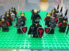 Lego NEW CASTLE DRAGON ARMY Sword Soldier Knights Shield Minifigs 14 Minifigures