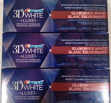 (24) Crest 3D White LUXE whitening toothpaste - 2.87oz size - Bulk lot. ON SALE!