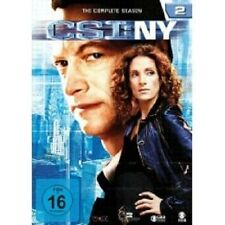 "CSI NY ""SEASON 2"" 6 DVD SET TV SERIE NEU"