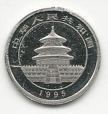 CHINA, PEOPLES REPUBLIC,  1995,  PLATINUM,  1/20 TR.OZ. BRILLIANT UNCIRCULATED