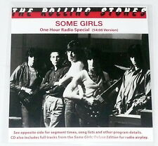 THE ROLLING STONES - SOME GIRLS RADIO SPECIAL CD 54 Mins. Songs/Interviews  NEW