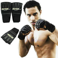 Top Cheap Gym Muay Thai Training Punching Bag Half Mitts Sparring Boxing Gloves