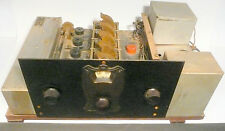 vintage * HOLMES-JORDON MODEL 40 Radio: UNTESTED CHASSIS w/ BRASS FACEPLATE