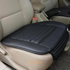 Car Front Seats Cover PU Leather Bamboo Single Bucket Seat Protector Mat Cusion